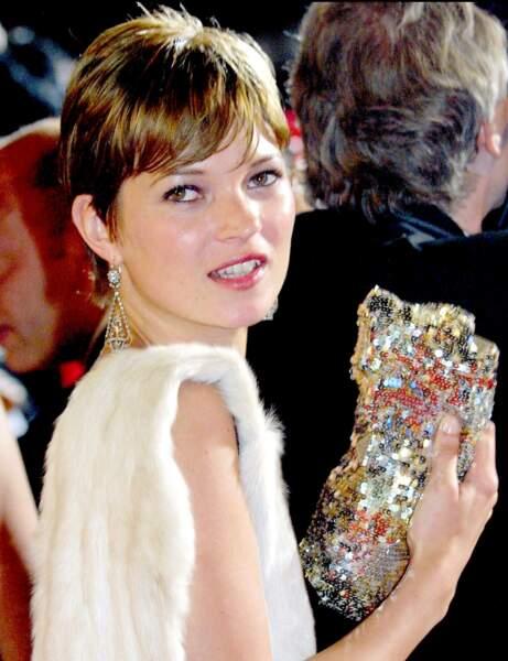 La coupe pixie de Kate Moss