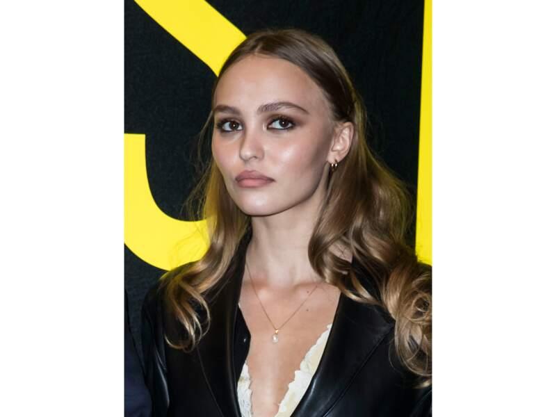 """La mannequin et actrice est présente à la première du film """"Les Fauves"""""""