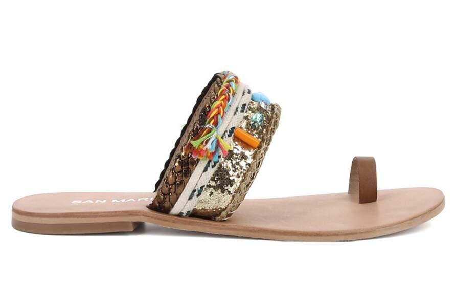 Sandales artisanat