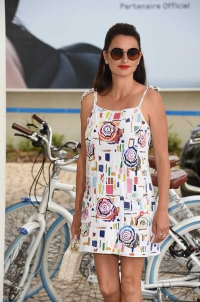 Penélope Cruz au Festival de Cannes le 17 mai