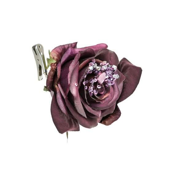 Clip fleur décoratif