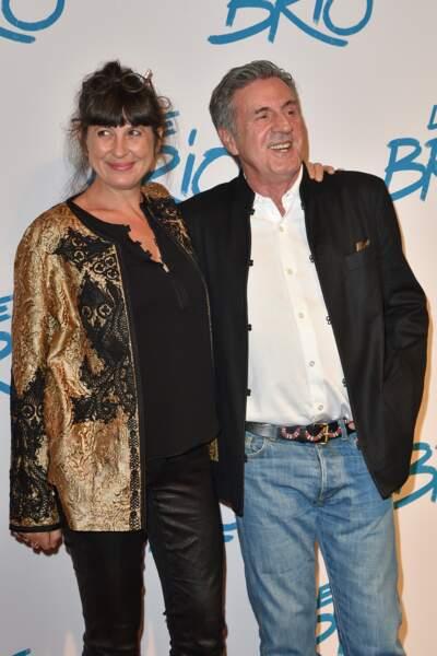 Daniel Auteuil et sa femme Aude Ambroggi : 2017