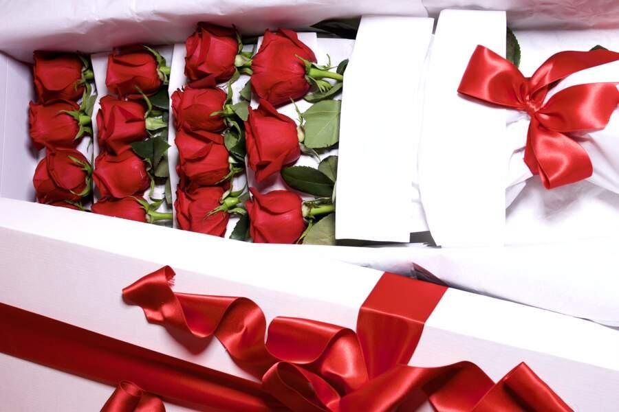 Bouquet grand luxe - Ecrin de roses