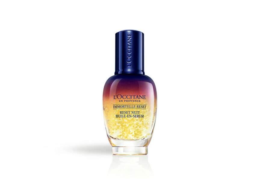 Le meilleur sérum en parfumerie : Reset Nuit L'Occitane