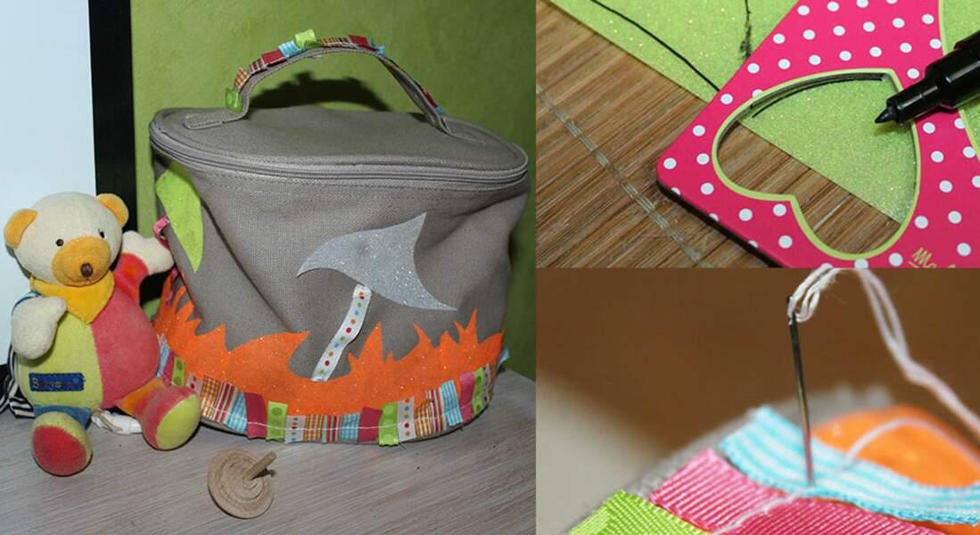 Un sac à goûter original pour les enfants