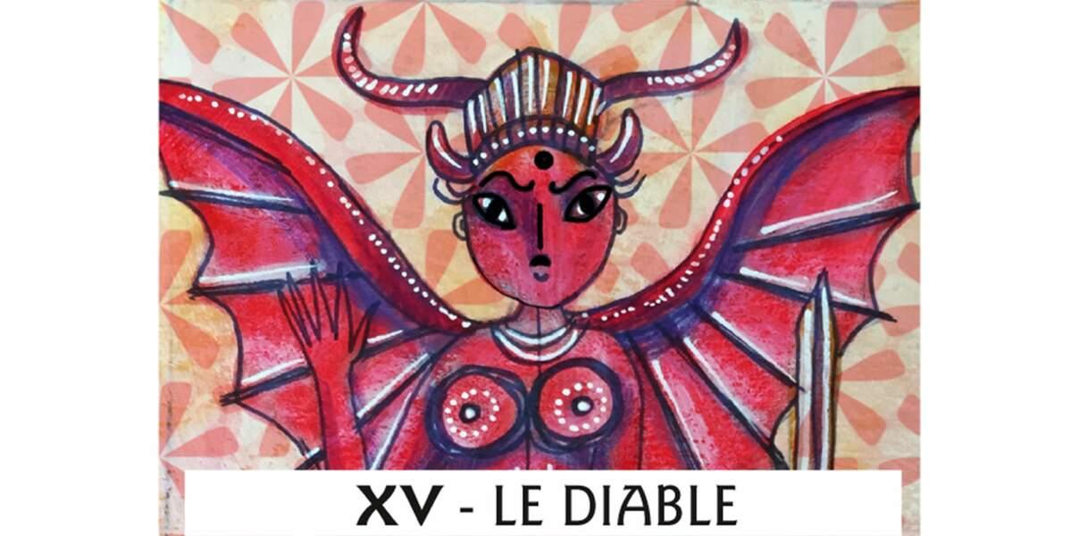 Tarot de Marseille : le Diable