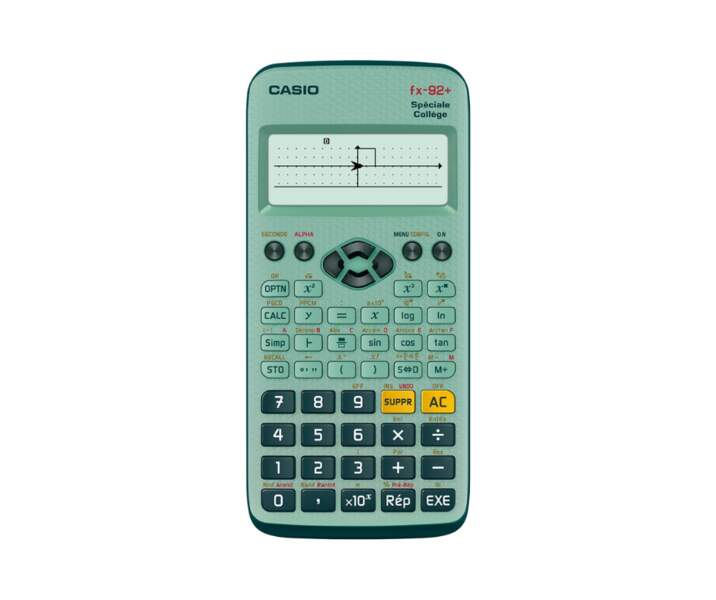 Calculatrice Fx-92+ Spéciale collège - Casio