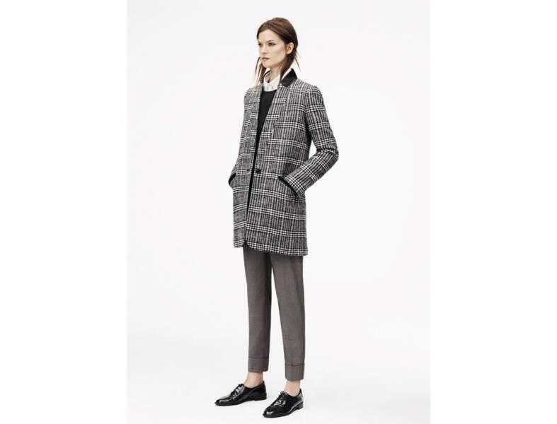 Le manteau Prince de Galles