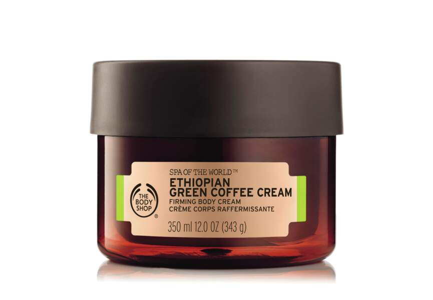 La Crème corps raffermissante au café vert d'Ethiopie The Body Shop