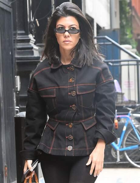 Kourtney Kardashian après sa rupture