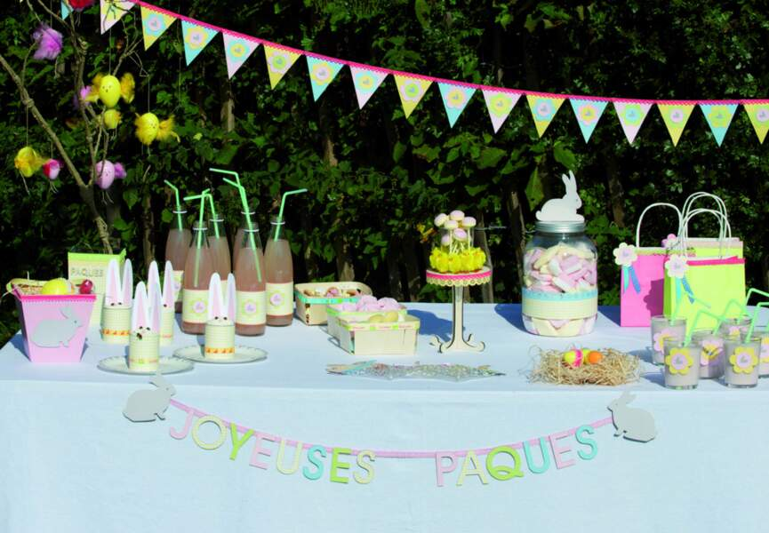 Une sweet table pour Pâques