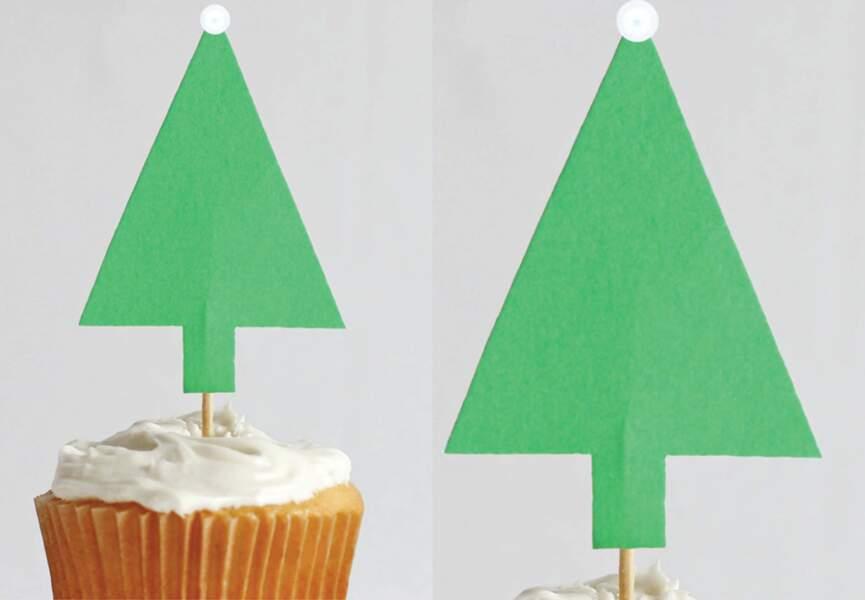 Un sapin pour décorer mes gâteaux