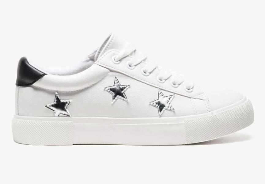 Chaussures de soirée : les baskets étoilées