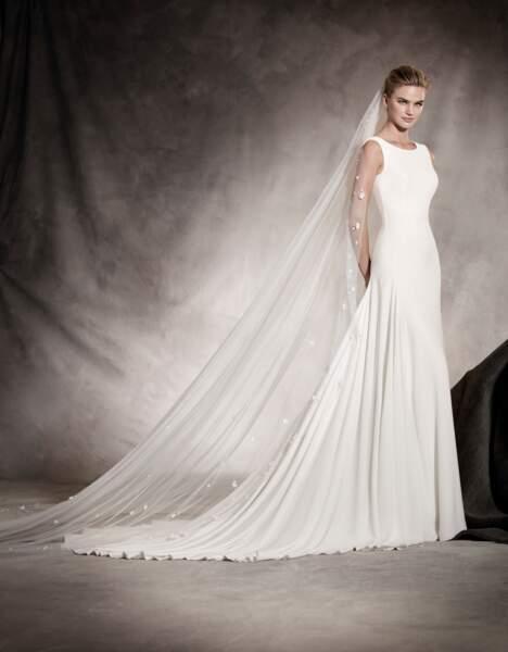 Robe de mariée Pronovias : Amaya