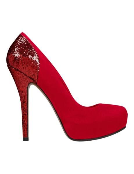 Rock, les escarpins rouges