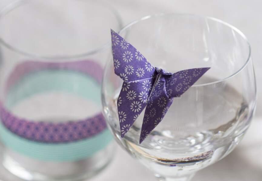 Un papillon en origami