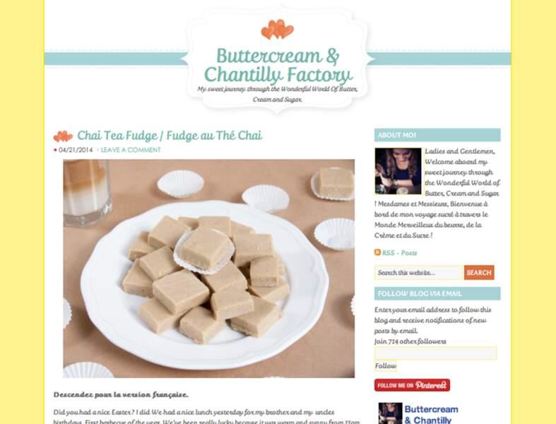 Buttercream & Chantilly Factory