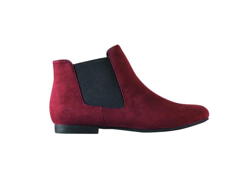 Boots rouges 3 Suisses
