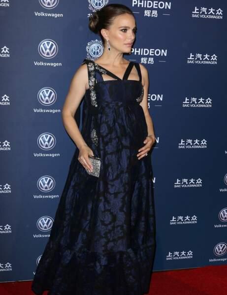 Natalie Portman : robe taille empire