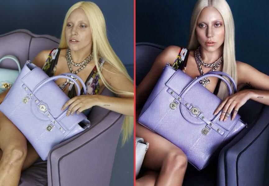 Lady Gaga, les cernes en moins
