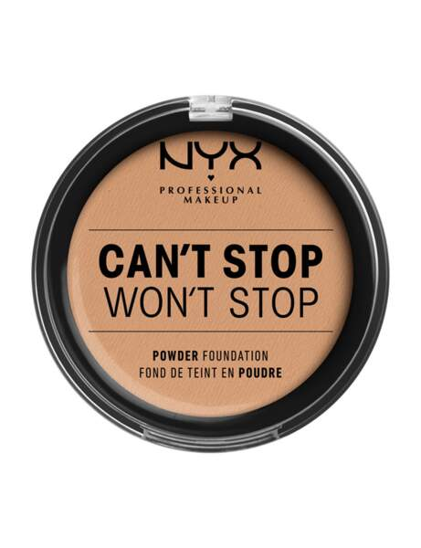 À 40 ans : le fond de teint poudre Can't Stop Won't Stop de Nyx