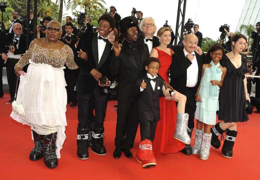 """L'équipe du film """"Première étoile"""" en Moon Boots sur le tapis rouge !"""