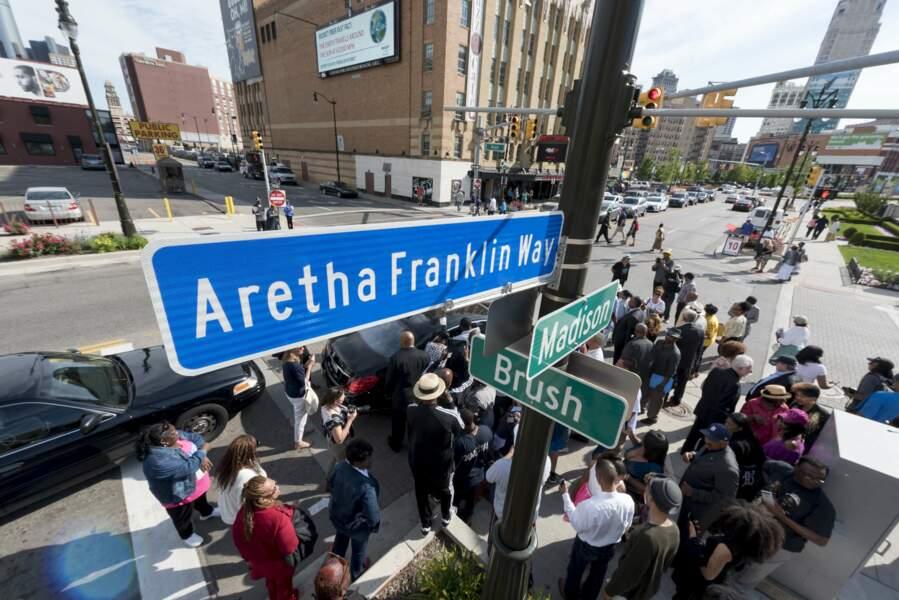 Une rue à son nom