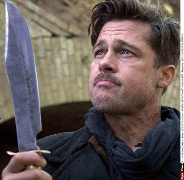 Brad Pitt dans Inglourious Basterds