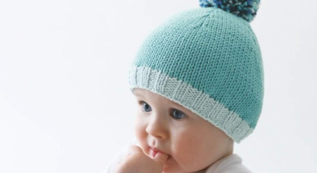 Un bonnet pour bébé