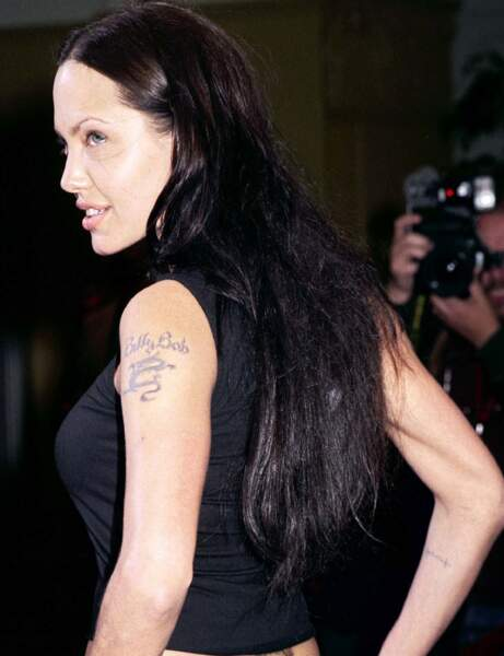 Angelina Jolie pour Billy Bob