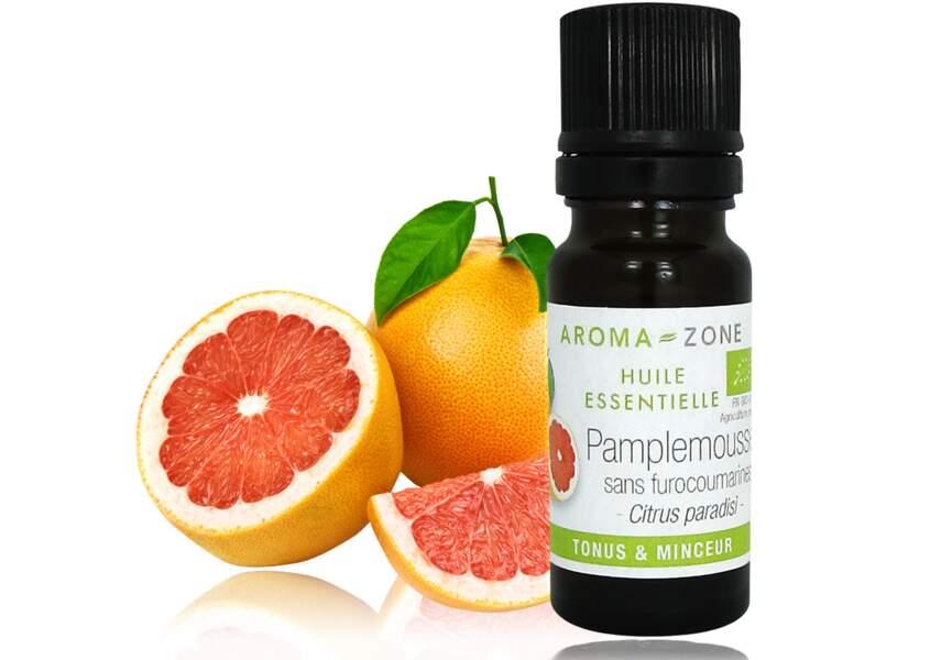 Huile essentielle de pamplemousse sans furocoumarines, Aroma-zone : nos produits minceur préférés