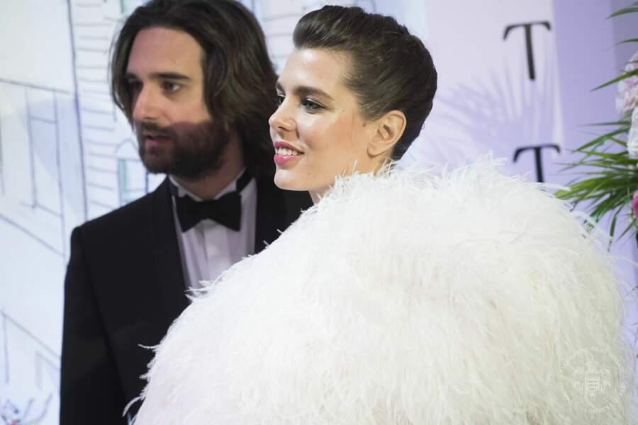Charlotte Casiraghi et Dimitri Rassam très complices lors du Bal de la Rose.
