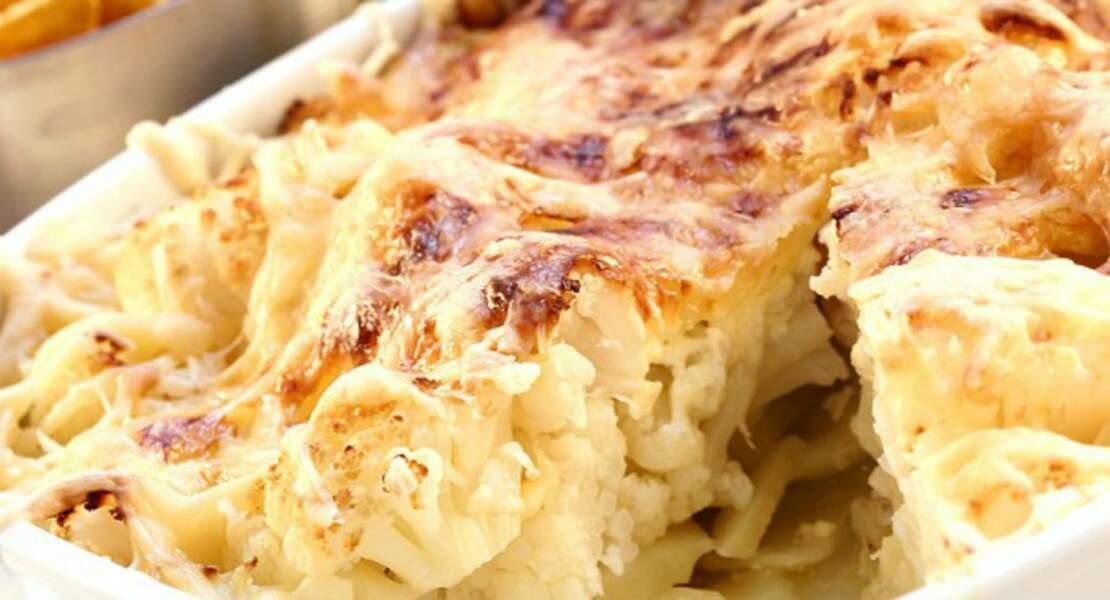 Gratin Patates / Chou-Fleur