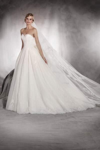 Robe de mariée Pronovias : Aina