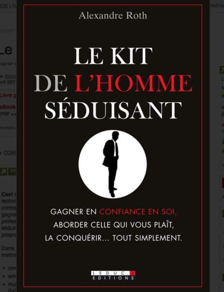 Le kit de l'homme séduisant, Ed. Leduc.s, 17 euros