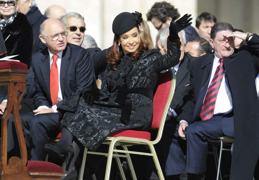 Cristina Kirchner, présidente de l'Argentine