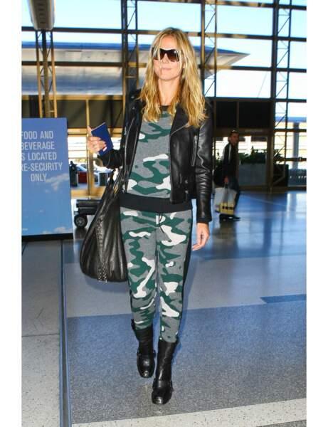 Fashion faux pas : le total look militaire