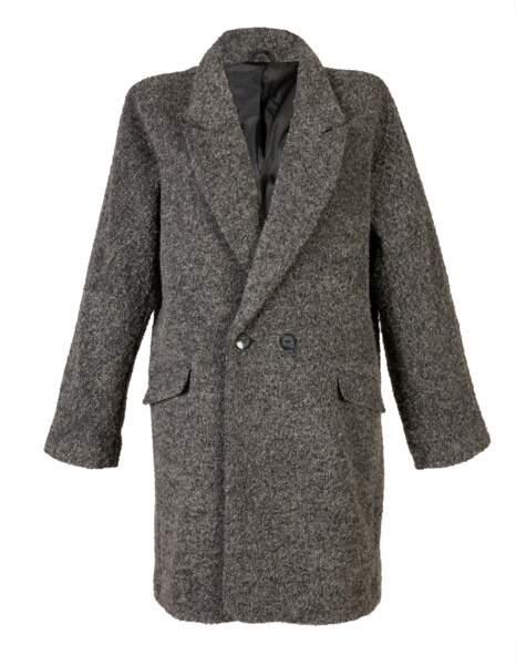Le manteau masculin