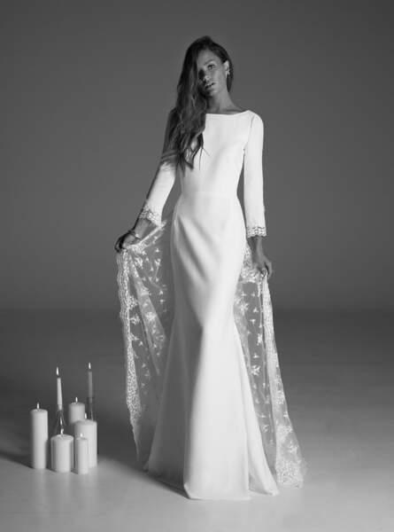 Mariage en hiver : Robe de mariée Suki par Rime Arodaky