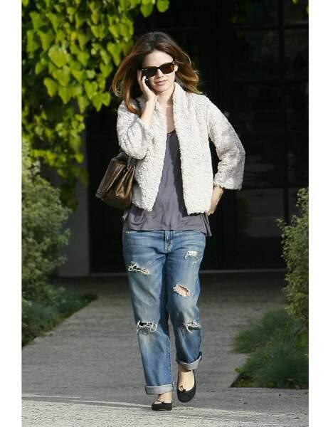 Fashion faux pas : le jean boyfriend