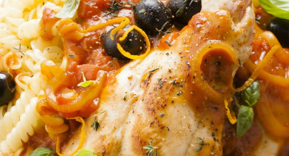 Poulet provençal