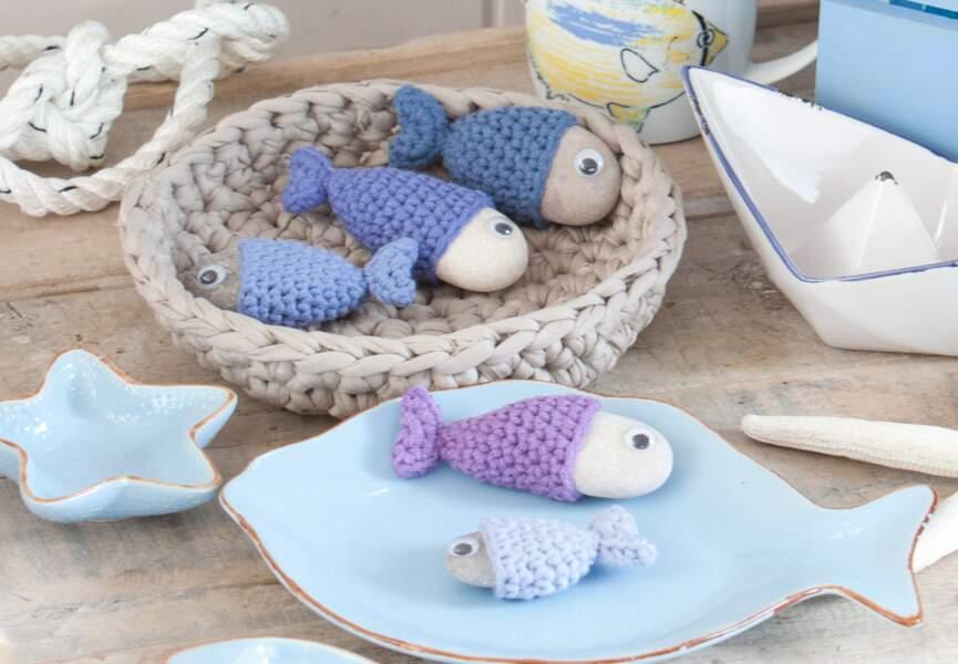 Des poissons au crochet