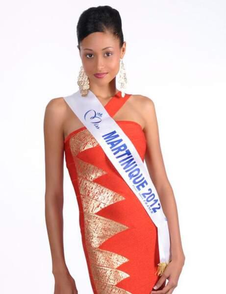 Camille René : Miss Martinique