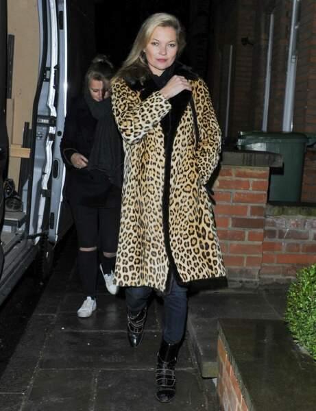 Les bottines à scratch de Kate Moss