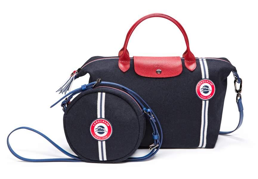 Bleu blanc rouge: les sacs élégants