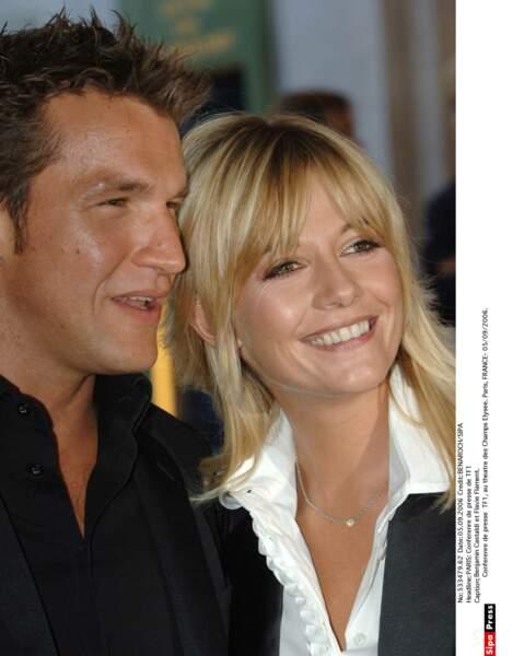 Benjamin Castaldi et son ex-femme Flavie Flament : 2006