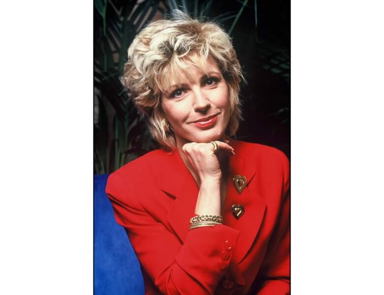 Evelyne Dhéliat en 1994 : elle a 46 ans