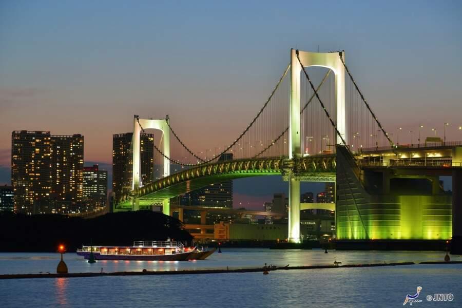 Odaiba,l'île du divertissement