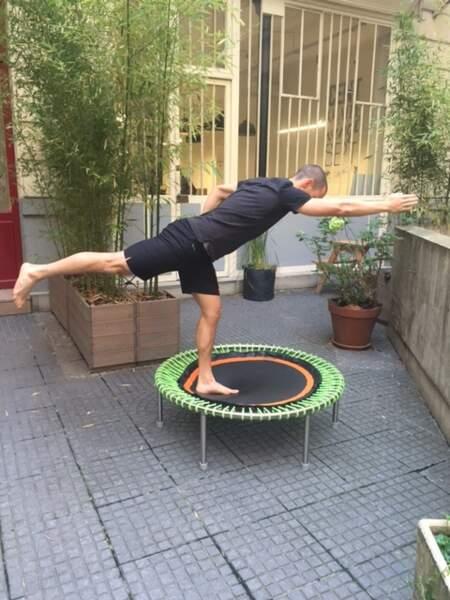 Mini-trampoline bellicon : posture n°4 (suite)