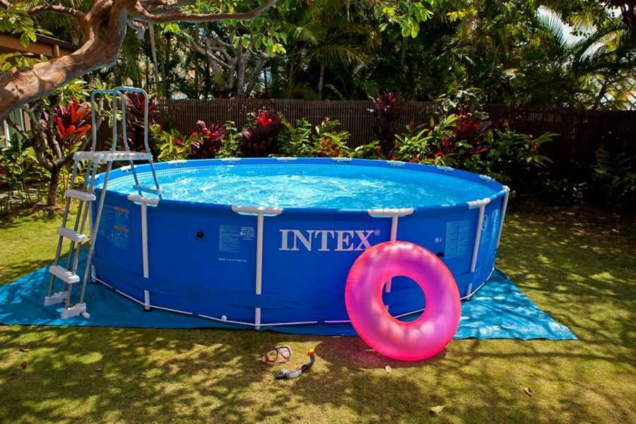piscine hors sol ronde Saint-Quentin-Fallavier